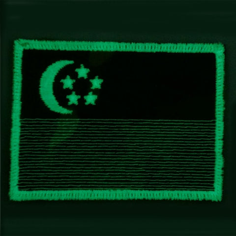 SINGAPORE FLAG - MULTICAM, GLOW (LARGE) - Hock Gift Shop | Army Online Store in Singapore