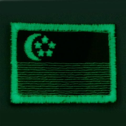 SINGAPORE FLAG - MULTICAM, GLOW (MEDIUM) - Hock Gift Shop | Army Online Store in Singapore