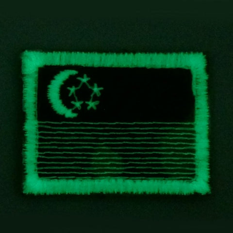 SINGAPORE FLAG - MULTICAM, GLOW (MINI) - Hock Gift Shop | Army Online Store in Singapore