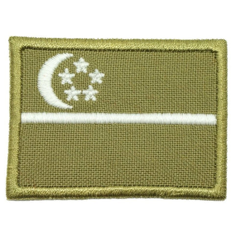 SINGAPORE FLAG - OLIVE GREEN, GLOW (MEDIUM) - Hock Gift Shop | Army Online Store in Singapore