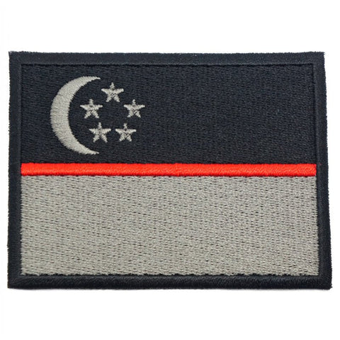 SINGAPORE FLAG - RED LINE (LARGE) - Hock Gift Shop | Army Online Store in Singapore