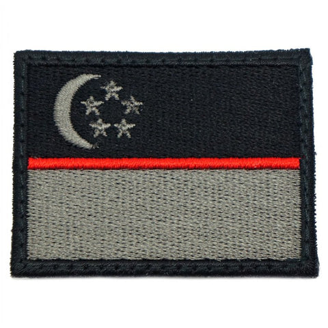 SINGAPORE FLAG - RED LINE (MEDIUM) - Hock Gift Shop | Army Online Store in Singapore