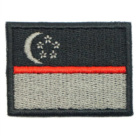 SINGAPORE FLAG - RED LINE (MINI) - Hock Gift Shop | Army Online Store in Singapore