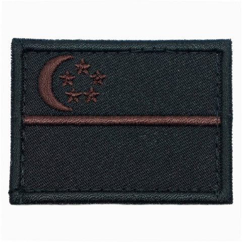 SINGAPORE FLAG - STEALTH BROWN (MEDIUM) - Hock Gift Shop | Army Online Store in Singapore