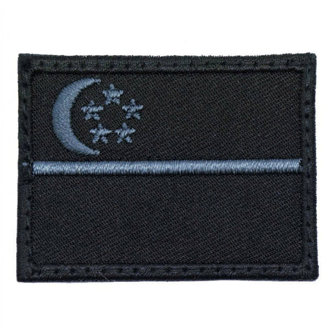 SINGAPORE FLAG - STEALTH GREY (MEDIUM) - Hock Gift Shop | Army Online Store in Singapore
