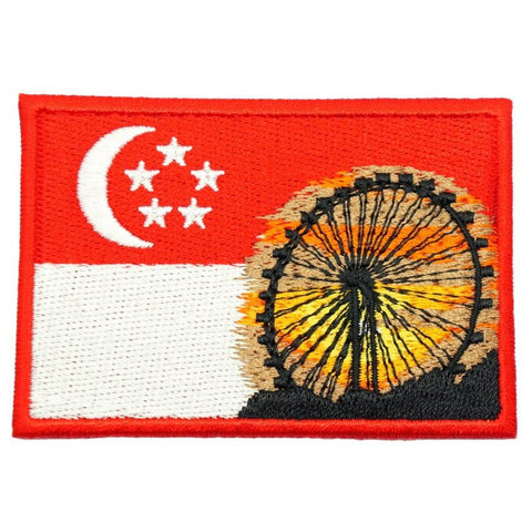 SINGAPORE FLYER FLAG PATCH - Hock Gift Shop | Army Online Store in Singapore