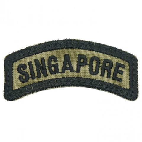 SINGAPORE TAB 2017 - OLIVE GREEN - Hock Gift Shop | Army Online Store in Singapore
