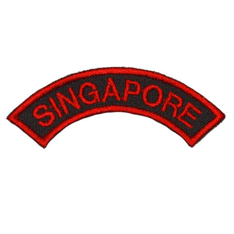 SINGAPORE TAB - BLACK WITH RED - Hock Gift Shop | Army Online Store in Singapore