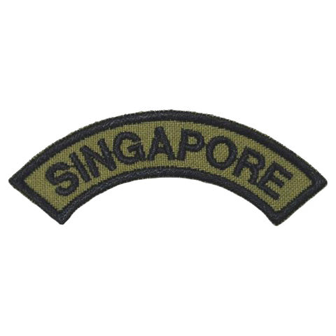 SINGAPORE TAB - OLIVE GREEN - Hock Gift Shop | Army Online Store in Singapore