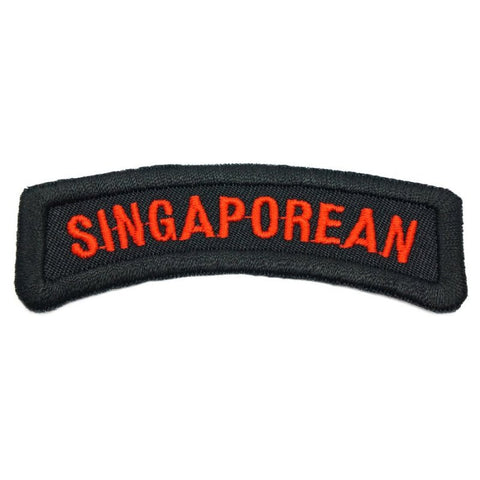SINGAPOREAN TAB - BLACK - Hock Gift Shop | Army Online Store in Singapore