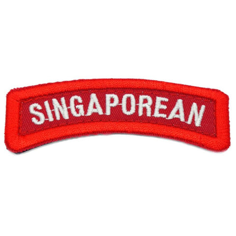 SINGAPOREAN TAB - RED - Hock Gift Shop | Army Online Store in Singapore