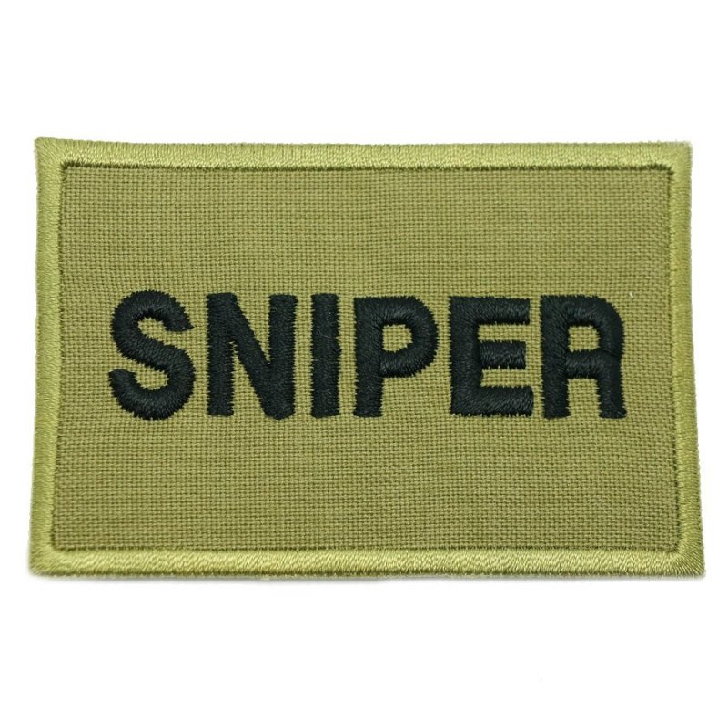 SNIPER CALL SIGN PATCH - OLIVE GREEN - Hock Gift Shop | Army Online Store in Singapore