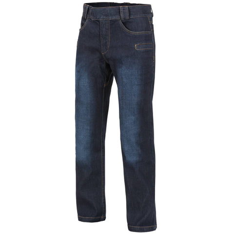HELIKON-TEX GREYMAN TACTICAL JEANS - DENIM MID (DARK BLUE)
