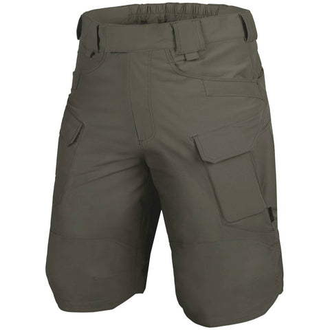 "HELIKON-TEX OUTDOOR TACTICAL SHORTS 11"" - VERSASTRECTH LITE (TAIGA GREEN)"