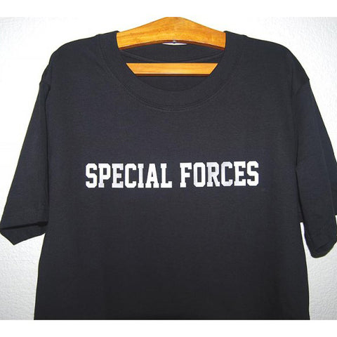 HGS T-SHIRT - SPECIAL FORCES (SILVER PRINT) - Hock Gift Shop | Army Online Store in Singapore