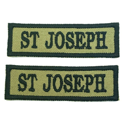 ST JOSEPH NCC SCHOOL TAG - 1 PAIR - Hock Gift Shop | Army Online Store in Singapore