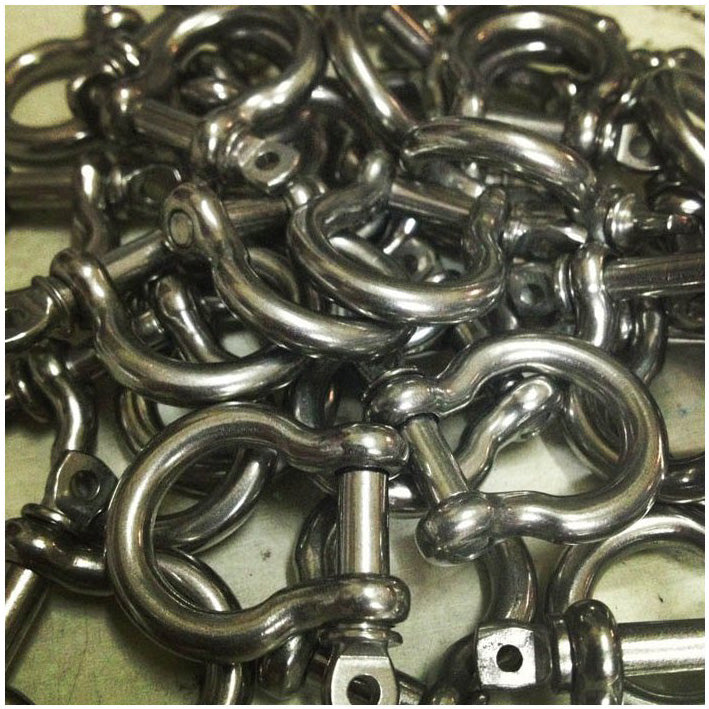 STAINLESS STEEL MARINE SHACKLES