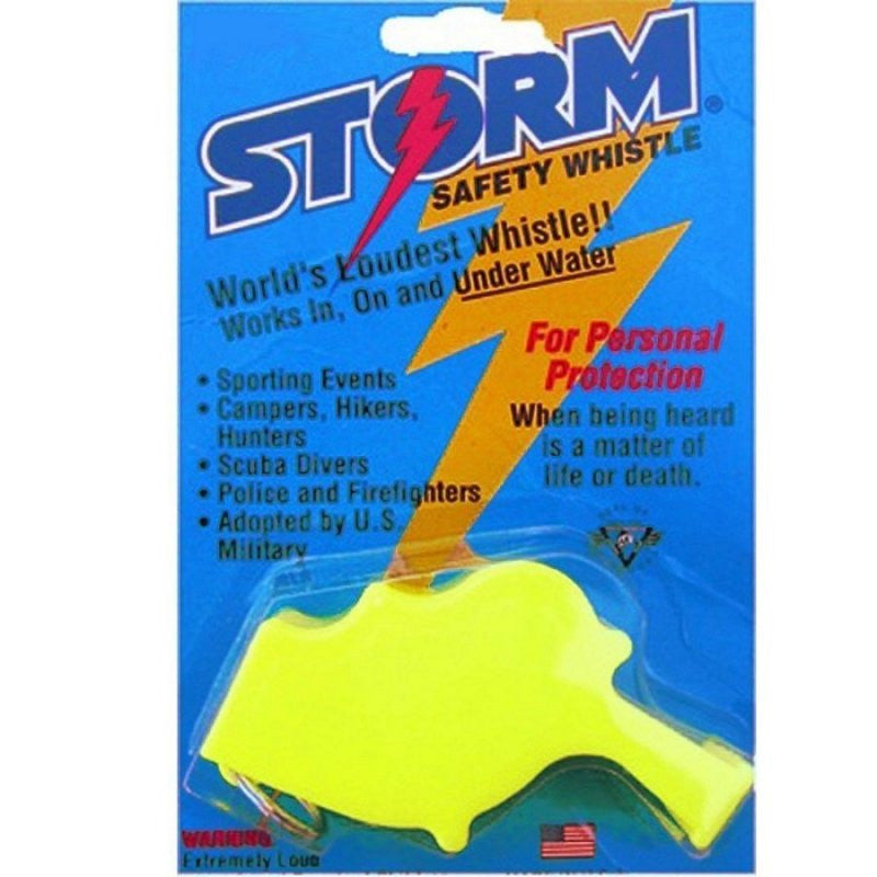 WINDSTORM WHISTLE - LARGE - YELLOW - Hock Gift Shop | Army Online Store in Singapore