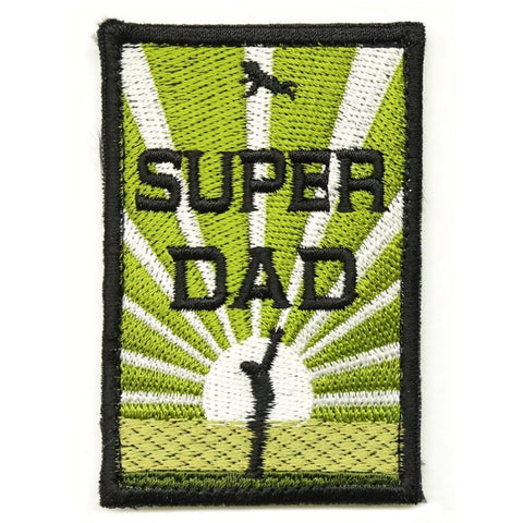 SUPER DAD PATCH - AVOCADO