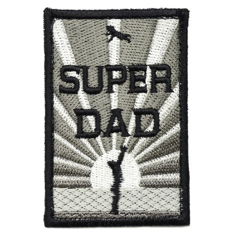 SUPER DAD PATCH - DARK ACU