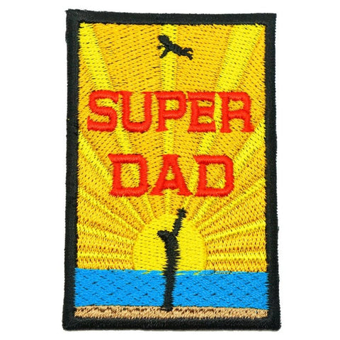 SUPER DAD PATCH - FULL COLOR