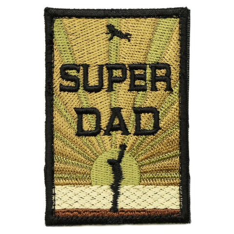SUPER DAD PATCH - MULTICAM V1