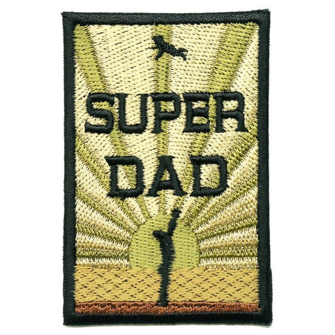 SUPER DAD PATCH - MULTICAM V2