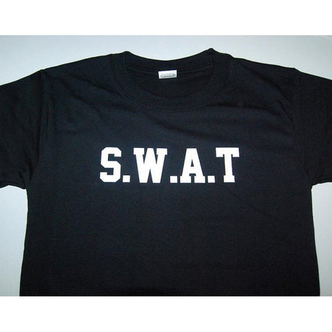 HGS T-SHIRT - S.W.A.T (WHITE PRINT) - Hock Gift Shop | Army Online Store in Singapore