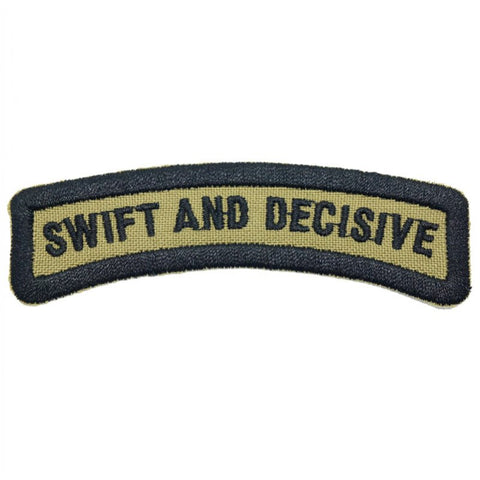 SWIFT AND DECISIVE TAB - OLIVE GREEN - Hock Gift Shop | Army Online Store in Singapore