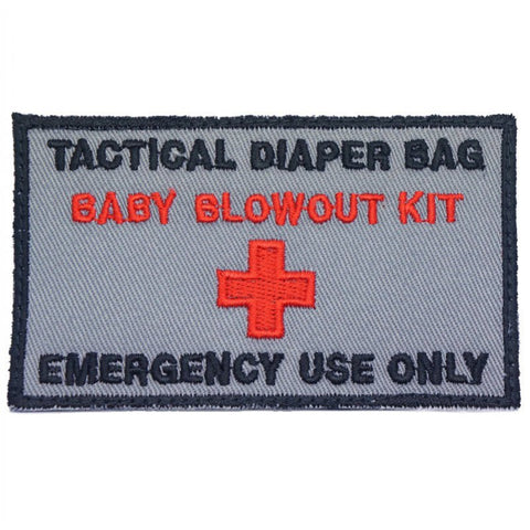 TACTICAL DIAPER BAG PATCH - GREY - Hock Gift Shop | Army Online Store in Singapore