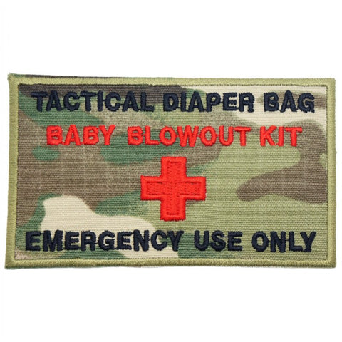 TACTICAL DIAPER BAG PATCH - MULTICAM - Hock Gift Shop | Army Online Store in Singapore