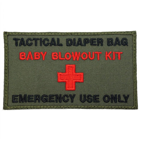 TACTICAL DIAPER BAG PATCH - OD - Hock Gift Shop | Army Online Store in Singapore