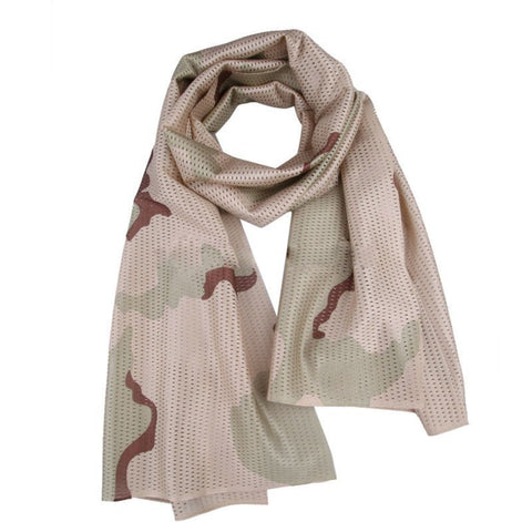 TACTICAL MESHED SCARF - 3 COLOR DESERT - Hock Gift Shop | Army Online Store in Singapore