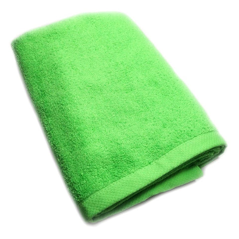 TE BATH TOWELS 100% COTTON 700GMS 70CM X 140CM (CLASSIC GREEN) - Hock Gift Shop | Army Online Store in Singapore