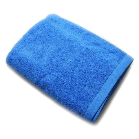 TE BATH TOWELS 100% COTTON 700GMS 70CM X 140CM (ROYAL BLUE) - Hock Gift Shop | Army Online Store in Singapore