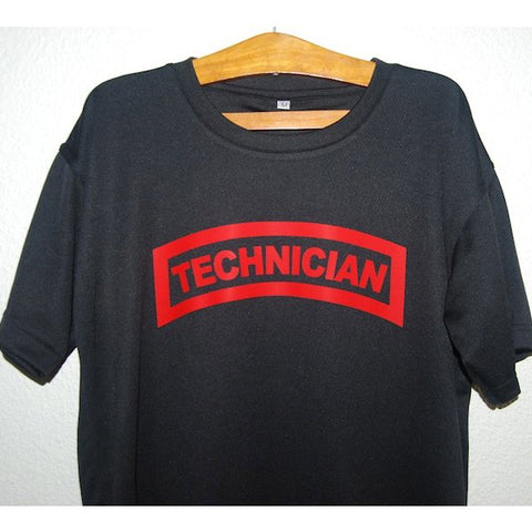 HGS T-SHIRT - TECHNICIAN TAB (RED PRINT) - Hock Gift Shop | Army Online Store in Singapore