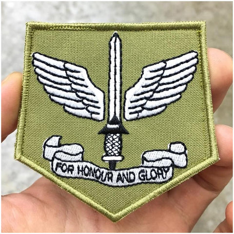 COMMANDO PATCH - OLIVE GREEN - Hock Gift Shop | Army Online Store in Singapore