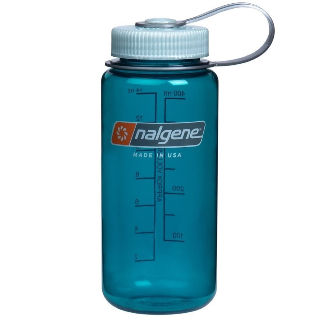 NALGENE WIDE MOUTH 16 OZ / 500 ML TO THE BRIM - TROUT GREEN
