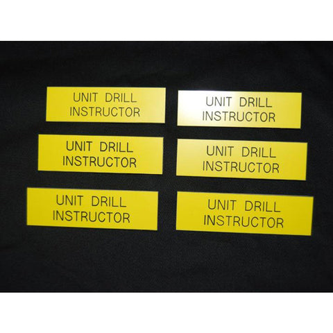 UNIT DRILL INSTRUCTOR TAG - Hock Gift Shop | Army Online Store in Singapore