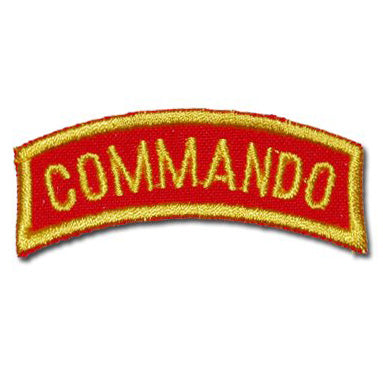 US COMMANDO TAB - RED