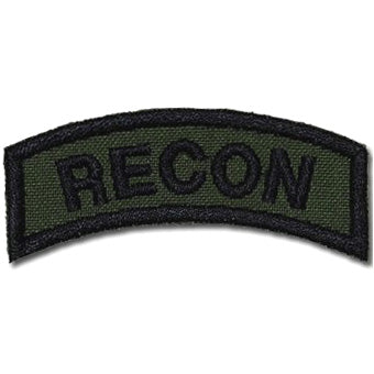 US RECON TAB - OD GREEN