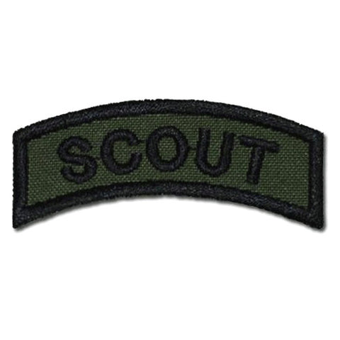 US SCOUT TAB - OD GREEN