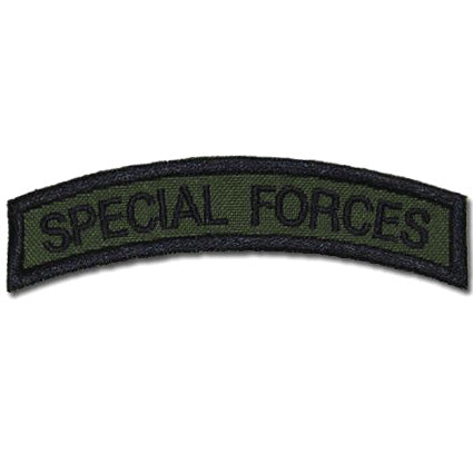 US SPECIAL FORCES TAB - OD GREEN