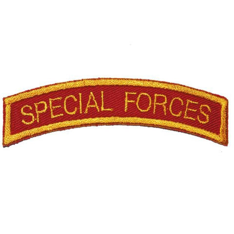 US SPECIAL FORCES TAB - RED