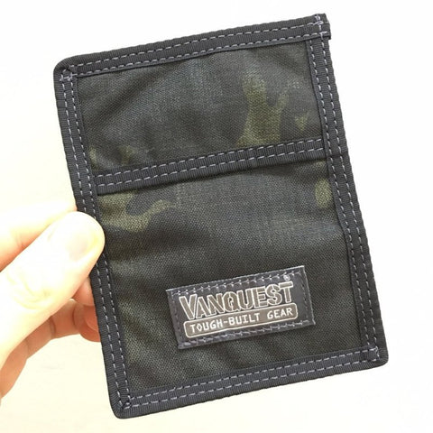 VANQUEST VAULT 2.0 RFID-BLOCKING WALLET - MULTICAM BLACK