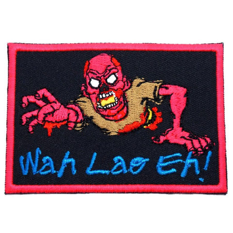 WAH LAO EH ZOMBIE PATCH - HOT PINK - Hock Gift Shop | Army Online Store in Singapore