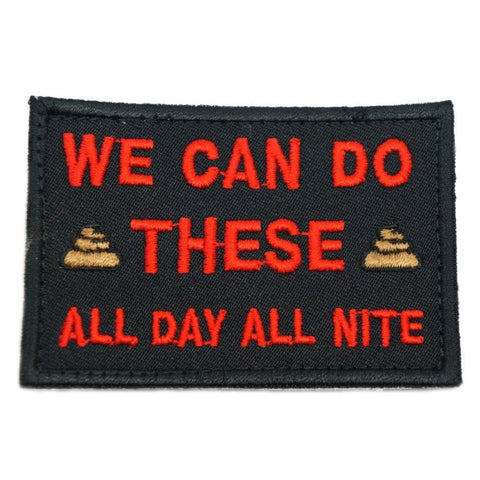 WE CAN DO THESE PATCH - BLACK - Hock Gift Shop | Army Online Store in Singapore