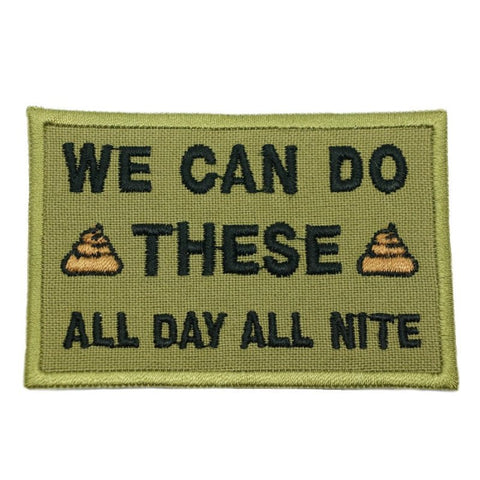 WE CAN DO THESE PATCH - OLIVE GREEN - Hock Gift Shop | Army Online Store in Singapore