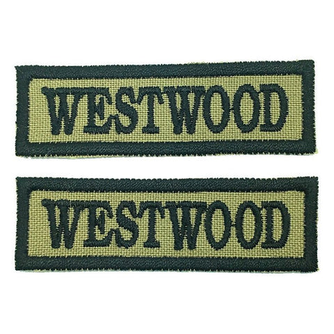 WESTWOOD NCC SCHOOL TAG - 1 PAIR - Hock Gift Shop | Army Online Store in Singapore