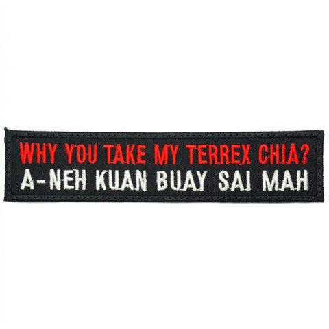 WHY YOU TAKE MY TERREX - BLACK RED - Hock Gift Shop | Army Online Store in Singapore